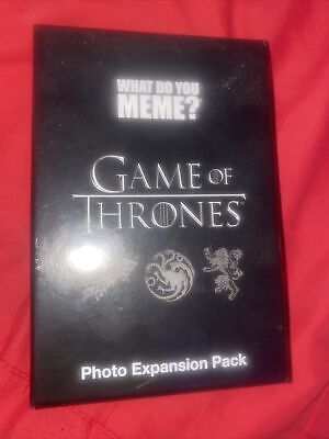 AU17 • Buy What Do You Meme? Game Of Thrones Photo Expansion Pack *Brand New*