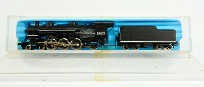 AU63.34 • Buy Atlas / Rivarossi N Scale 4-6-2 Steam Engine And Tender #5629