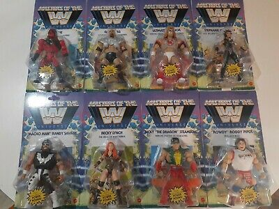 $171.38 • Buy WWE Masters Of The Universe 8 Figure Lot Wave 5&6 ,Kane,Warrior,Piper,McMahon