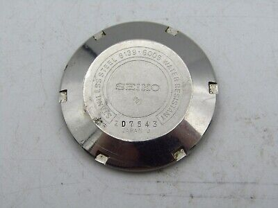 $ CDN225.95 • Buy SEIKO POGUE 6139-6005, 6000-6002 USED WATCH CASE BACK PARTS FOR REPAIR P&R W3