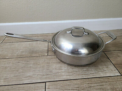 $ CDN99.97 • Buy Emeril All Clad 3 Qt Saucepan 10  Skillet Saute Pot Casserole Lid