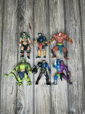 $49.99 • Buy Masters Of The Universe 200X Evil Warriors Lot Whiplash Trap Jaw Mer-Man MOTU