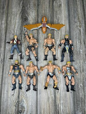 $49.99 • Buy Masters Of The Universe MOTU 200X Figures Mattel Lot Of 8 Prince Adam And Eagle