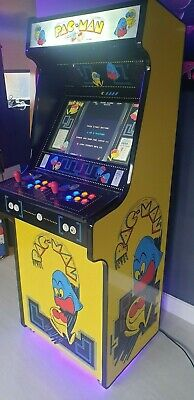 £1450 • Buy Pac-Man Classic Retro Arcade Machine 2-player 15000+ Games & Fully Loaded