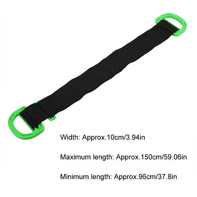 AU16.81 • Buy Adjustable Moving Lifting Strap For Furniture Boxes Mattress FS