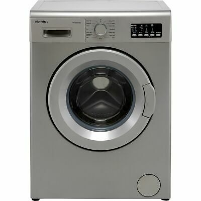 £219 • Buy Electra W1449CF2SE D Rated 7Kg 1400 RPM Washing Machine Silver New
