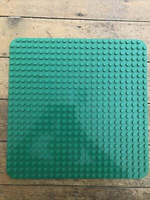 £11.99 • Buy LEGO DUPLO LARGE Green SQUARE BASE BOARD 24x24 STUD Curved Corners