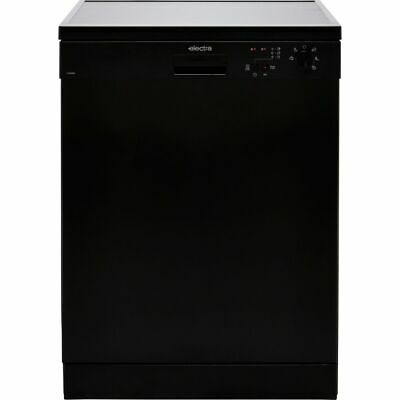 View Details Electra C1760BE E Dishwasher Full Size 60cm 12 Place Black New From AO • 239.00£