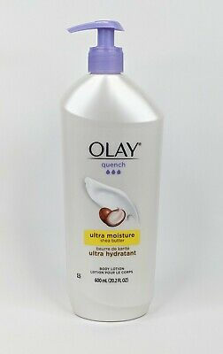 AU17.40 • Buy Olay Quench Body Lotion Ultra Moisture Shea Butter Vitamins E + B3 600ml 20.2 Oz