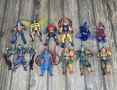 $52 • Buy Masters Of The Universe 200X Heroic Warriors Lot Man-E-Faces Stratos Buzz Off