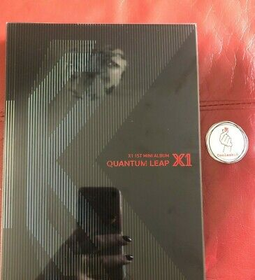 X1 Quantum Leap Album + Postcard Quantum Leap Version (No Pc's) Kpop • 9£