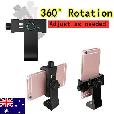 AU9.99 • Buy Universal Smartphone Tripod Adapter Cell Phone Holder Mount For IPhone Camera_