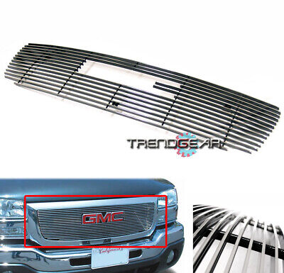 $44.95 • Buy 2003 2004 2005 2006 Gmc Sierra 1500 2500 3500 Hd Truck Upper Billet Grill Grille