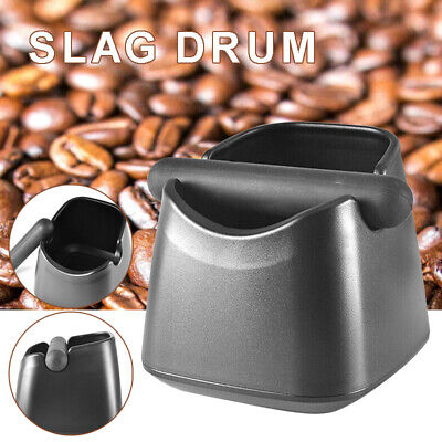 AU16.89 • Buy Pro Coffee Knock Box Bin Espresso Grinds Tamper Waste Container Tamp Tube Ol