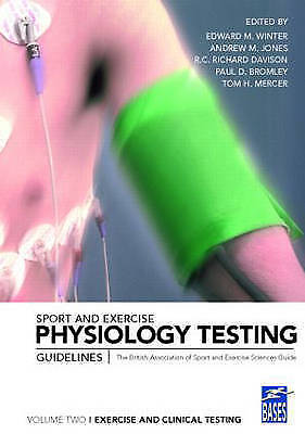 £23.85 • Buy Sport And Exercise Physiology Testing Guidelines : Exercise And Clinical Test...