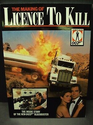 $13 • Buy The Making Of Licence To Kill - Rare James Bond 007 Softcover Book!