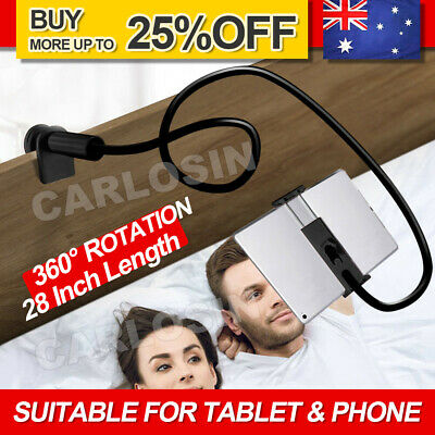 AU11.85 • Buy 360 Rotating Tablet Stand Holder Lazy Bed Desk Mount For IPad IPhone Air Samsung