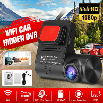 AU30.99 • Buy HD 720P Front Lens Video Recorder Car DVR Hidden Camera WIFI USB Dash Cam A -+