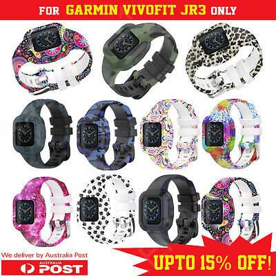 AU7.59 • Buy GARMIN VIVOFIT JR3 JUNIOR JR. 3 BAND Replacement Wristband Fitness Tracker Strap