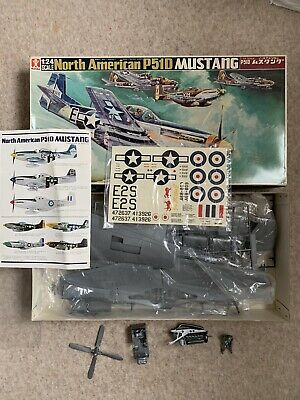 Bandai 1/24 North American P51D Mustang, Issued 1970's RARE. • 70£