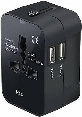 AU57.14 • Buy Universal All In One Worldwide Travel Adapter Wall Charger AC Power Plug Adapter