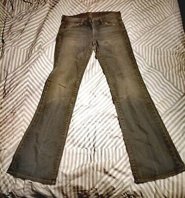 AU14.29 • Buy Womens 7 For All Mankind Bootcut Jeans Size 27 Blue Grey Denim
