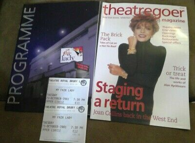 £3 • Buy My Fair Lady Theatre Programme And Tickets Theatre Royal Drury Lane