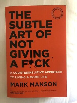 AU12 • Buy The Subtle Art Of Not Giving A F*ck: A Counterintuitive Approach To Living A...
