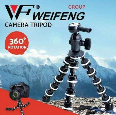 AU39.95 • Buy Weifeng Professional Camera Tripod Stand DSLR Ball Head Mount Flexible Universal