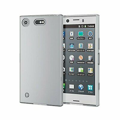 AU48.03 • Buy ELECOM Xperia XZ1 Compact Case SO-02K Docomo Soft TPU Material PD-SO02KUCTCR F/S