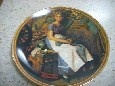 $ CDN17.57 • Buy Knowles Limited Edition Rockwell's Rediscovered Women Collection Plate # 8155