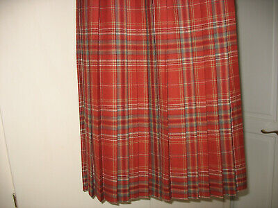 Cotswold Collection Checked Pleated Lined Skirt  Size 8  • 20£
