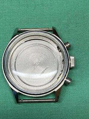 $ CDN307.56 • Buy Vintage Gallet Chronograph  Watch Stainless Case Valjoux 72 For Parts