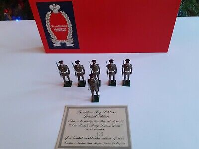 Tradition Hand Painted Toy Soldiers No 23 The British Army Service Dress 54mm • 30£