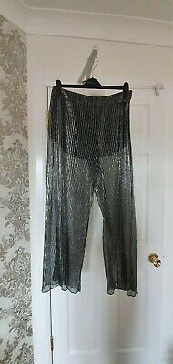 Womens Palazzo Trousers River Island Size 14 Brand New • 25£