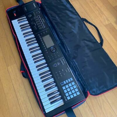 AU1559.67 • Buy Used FA-06 Roland 61 Key Keyboard Synthesizer With AC Adapter/Case From Japan