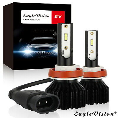 AU18.08 • Buy H11 H8 H9 LED Headlight Bulbs Conversion Kit CSP Chips Fog Light Bulb  6000K