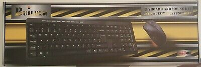 £6 • Buy Builder USB Keyboard And Mouse Combo Set (UK) Brand New