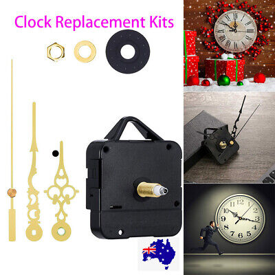 AU10.89 • Buy High Torque Clock Replacement Kits DIY Wall Quartz Clock Movement Mechanism Kit