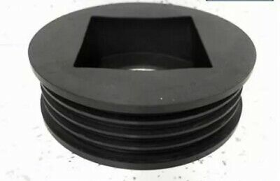 £10.50 • Buy Universal Rubber Rainwater Pipe Adaptor For Square Or Round Downpipe65mm - 110mm