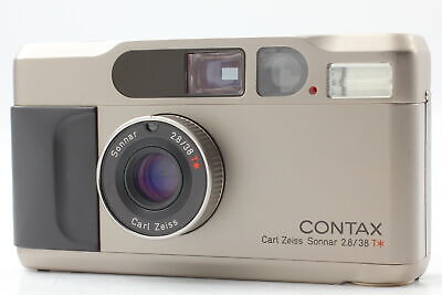 $ CDN1112.31 • Buy [Near MINT] Contax T2 Titan Silver 35mm Point & Shoot Film Camera From JAPAN