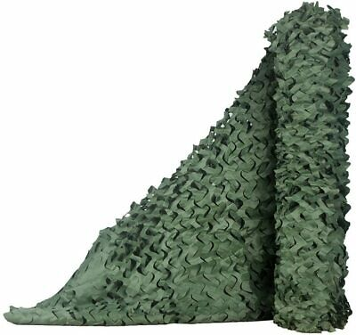 £9.99 • Buy Green Camo Net Hunting/Shooting Camouflage Netting Hide Army Camping Netting