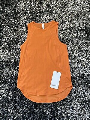 $ CDN38.74 • Buy NWT Lululemon Sculpt Tank In Amber Orange! Size 4!