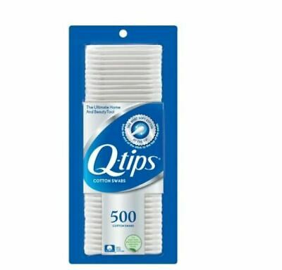 $ CDN14.15 • Buy PACK OF 02 Q Tips Original Cotton Swabs 500 Count FREE SHIPPING