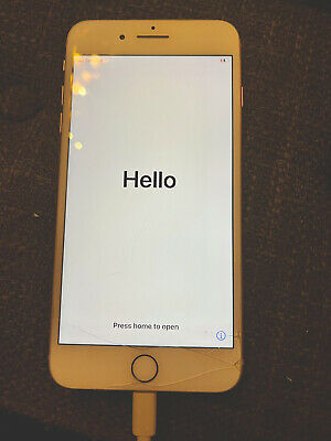 AU231.23 • Buy Apple IPhone 8 Plus - 64GB - Gold (Unlocked) A1897 (GSM) Cracked Screen