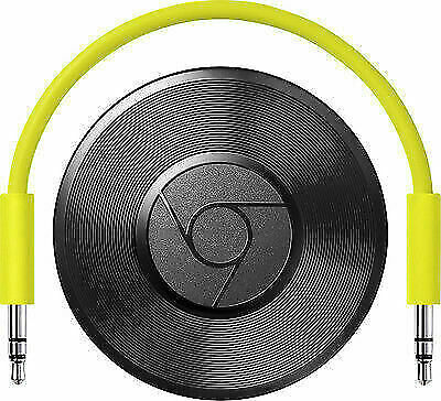 AU60.61 • Buy Google Chromecast Audio Media Streamer - Black