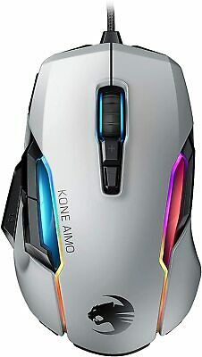 AU98.50 • Buy Roccat Kone AIMO Remastered 16000 DPI Wired RGB Optical Gaming Desktop Mouse
