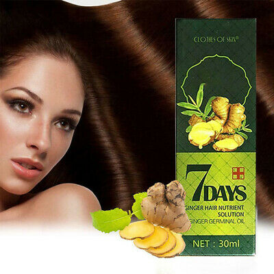 AU7.99 • Buy Regrowth 7Day Ginger Germinal Hair Growth Serum Hairdressing Anti Loss Treatment