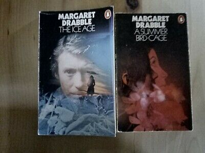 £10 • Buy 2 Margaret Drabble Penguin Paperback Books / The Ice Age / Summer Bird-Cage