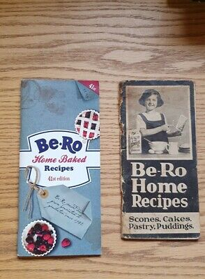 2 Be-Ro Books - Be-Ro Home Recipes & Home Baked 41st Edition  • 30£
